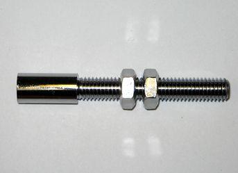 FERRULE ADJUSTER M8x1.25x50mm + L/NUTS