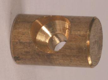 BARREL NIPPLE 6mm O.D.x10mm, 2.10mm BORE