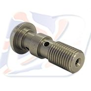 3/8 UNF DOMED DOUBLE BANJO BOLT S/S