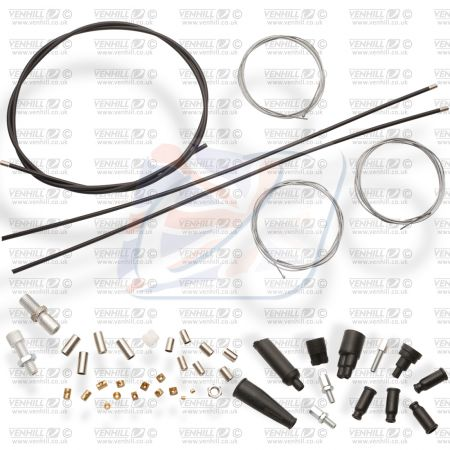 UNIVERSAL 1 INTO 2 THROTTLE CABLE KIT