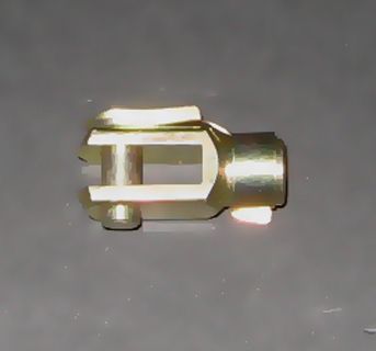 SHORT CLEVIS-M6 THREAD-6mm PIN HOLE