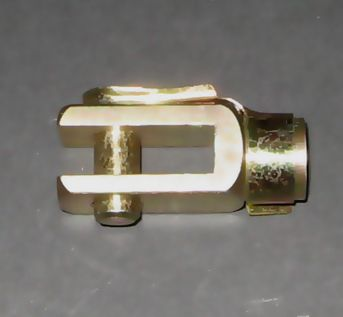 SHORT CLEVIS-M6 THREAD-8mm PIN HOLE