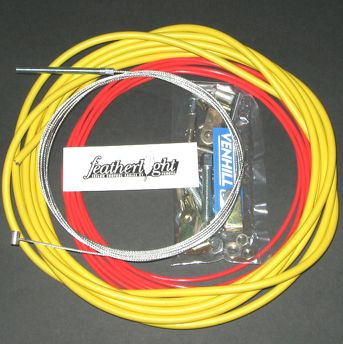 UNIVERSAL CAR THROTTLE CABLE KIT