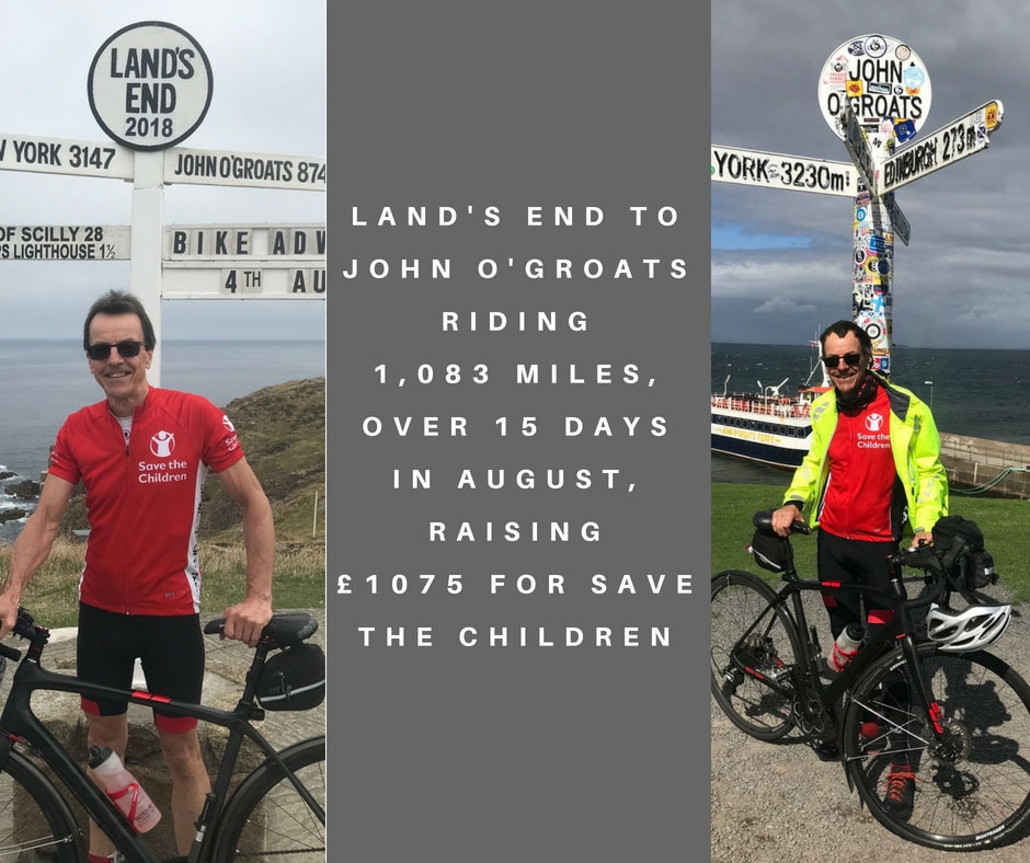 Lands End to John O'Groats by bicycle