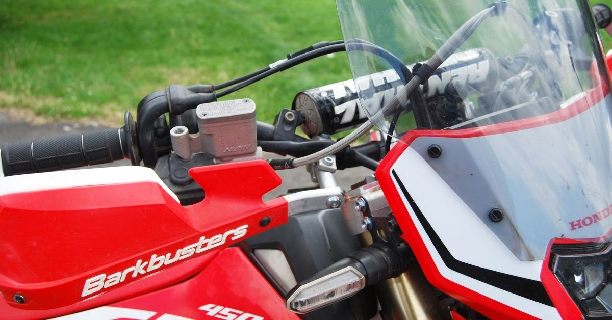 Venhill line up the CRF450L
